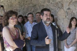Liz Castro i Jordi Sánchez / LLUÍS BRUNET
