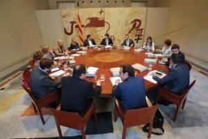 Reunió dels consellers i conselleres del govern de la Generalitat presidit per Carles Puigdemont / RUBÉN MORENO