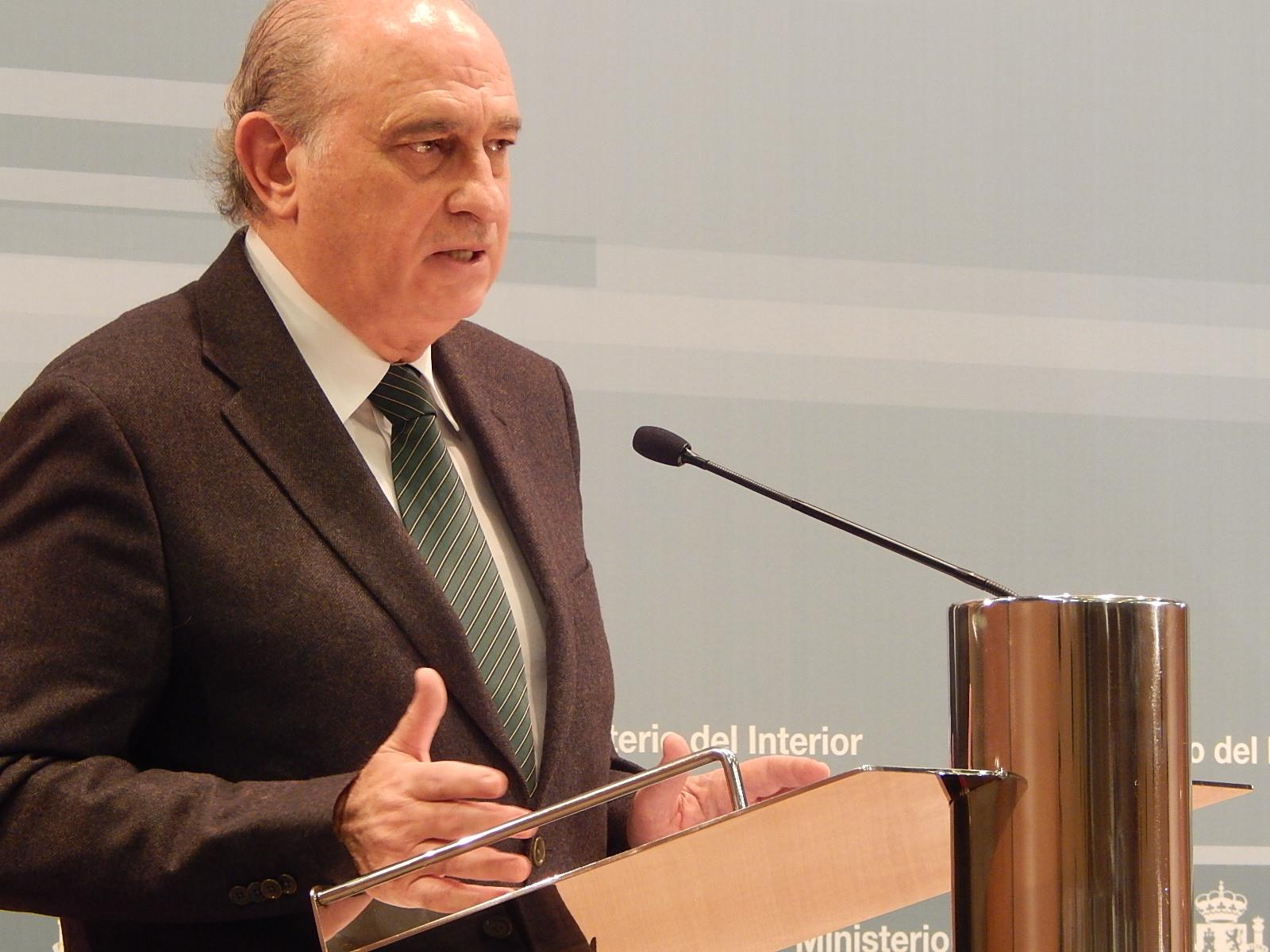L'exministre de l'Interior, Jorge Fernández Díaz