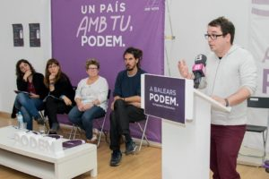 Un acte de Podem de les Balears / PODEM BALEARS