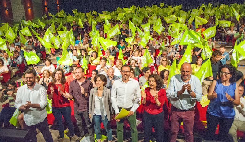 Míting de Més per Mallorca de cara a les eleccions del 24 de maig de 2015 / MÉS PER MALLORCA