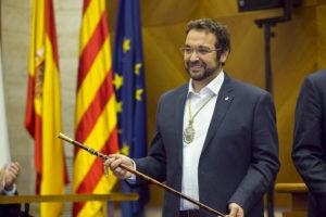 L'actual alcalde, Juli Fernàndez (ERC) / AJUNTAMENT DE SABADELL