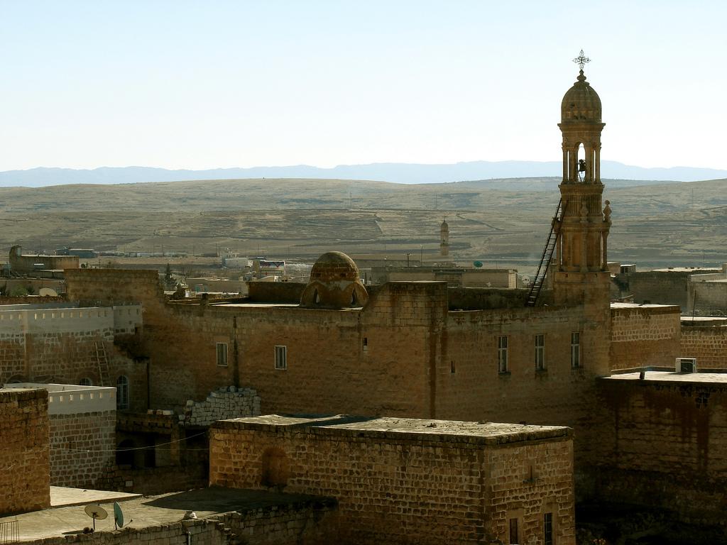 Església assíria a Midyat, al Kurdistan turc / SENOL DEMIR