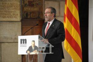 Joan Reñé, el president provincial / DIPUTACIÓ DE LLEIDA