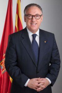 El president de la Diputació de Tarragona, Josep Poblet / DIPUTACIÓ DE TARRAGONA