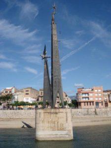 monument riu Tortosa