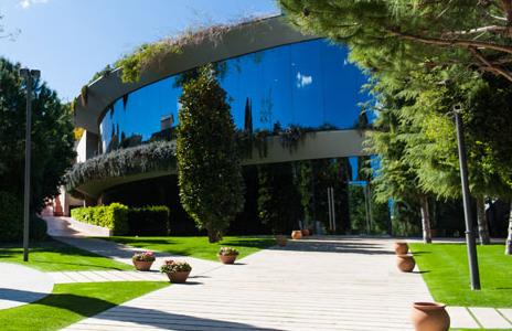 El campus de l'IESE a Barcelona / IESE