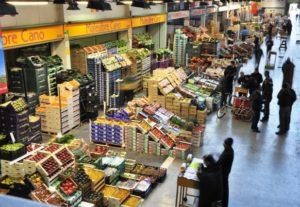 El mercat de Mercabarna. Foto: Mercabarna