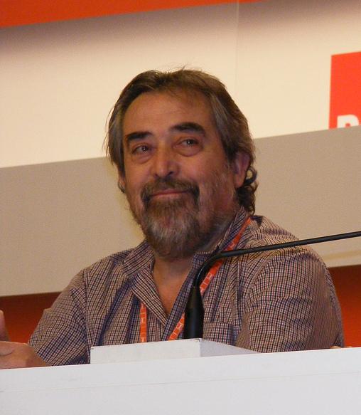 Juan Alberto Belloch en un acte del PSOE el 2011 / WIKIPEDIA