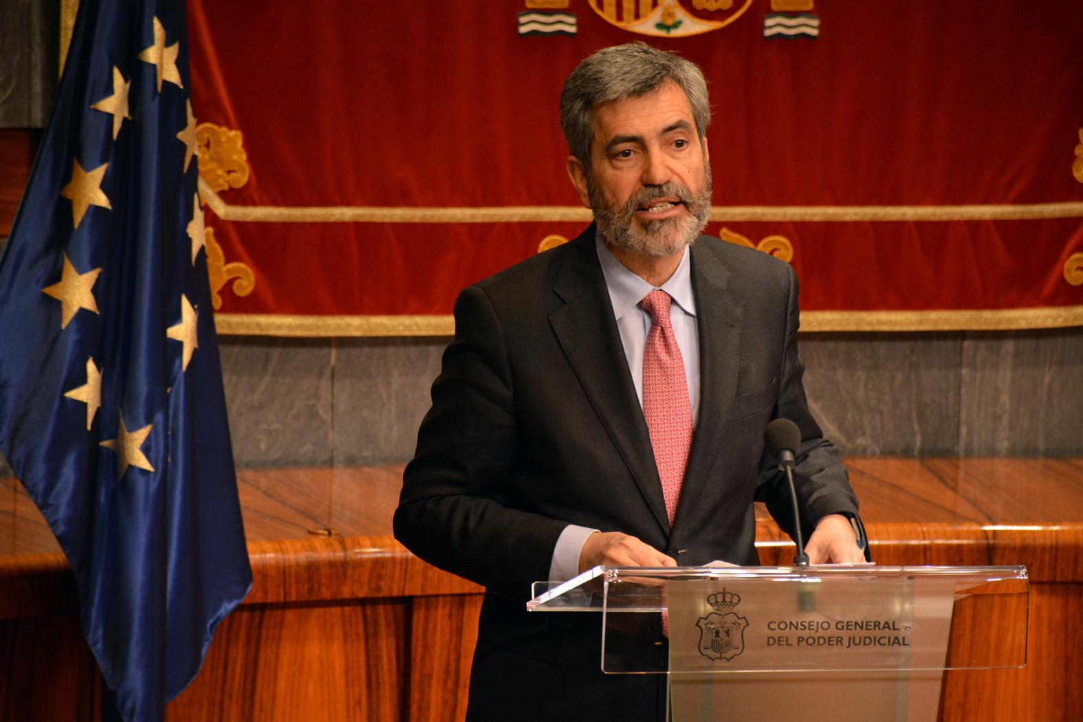 Carlos Lesmes, president del TS i del CGPJ / CGPJ