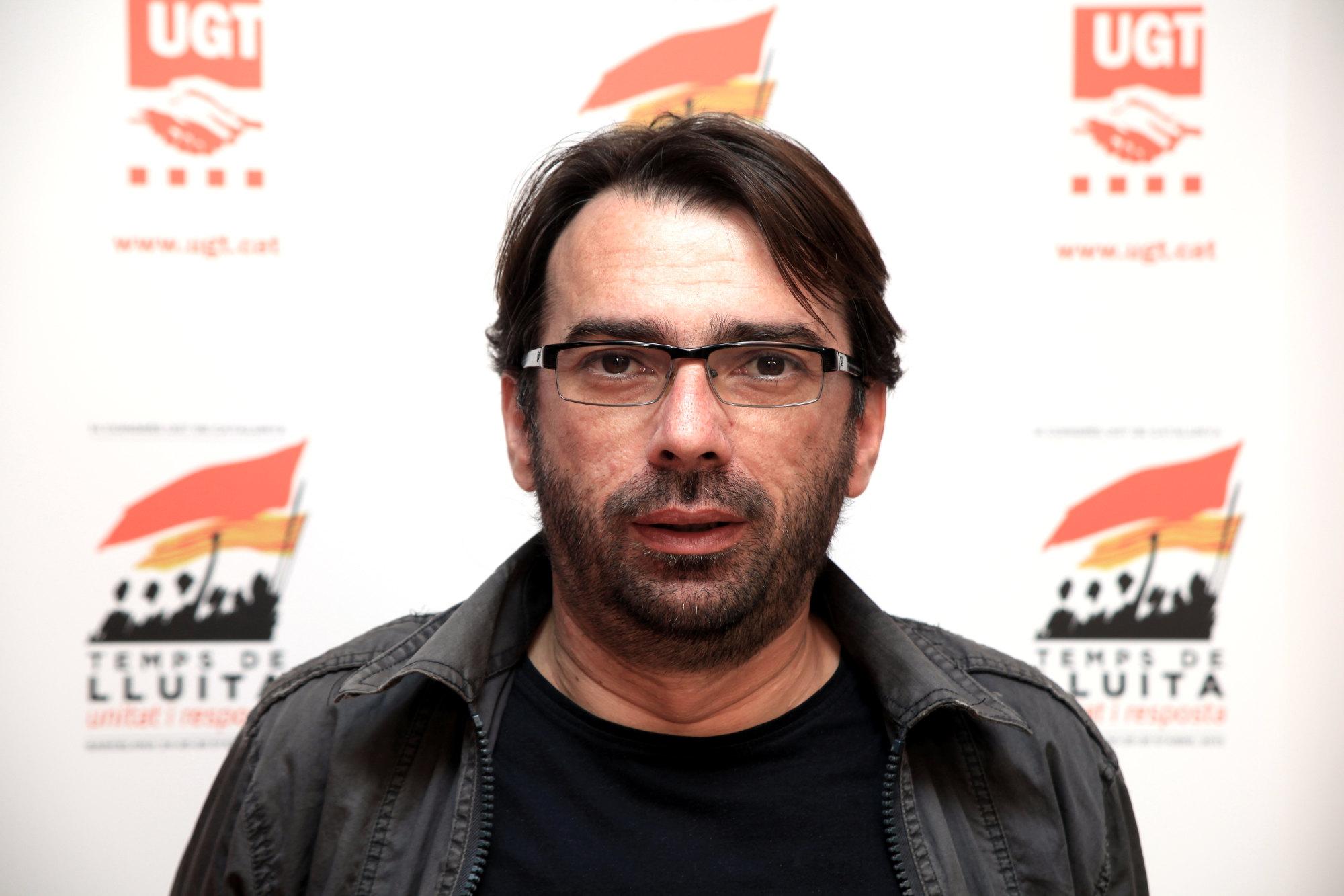 Camil Ros, secretari general de la UGT