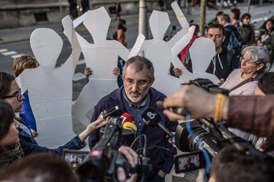 Francesc Mateu, director d'Intermon Oxfam