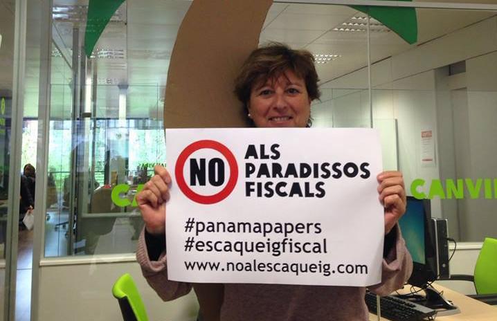 Patricia Cantarell, portaveu de la plataforma Pobresa Zero / INTERMON OXFAM