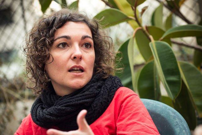 Maria Campuzano, portaveu de l'Aliança Pobresa Energètica