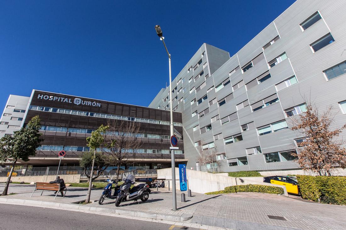 Hospital Quirón, al barri de Vallcarca de Barcelona / JORDI BORRÀS