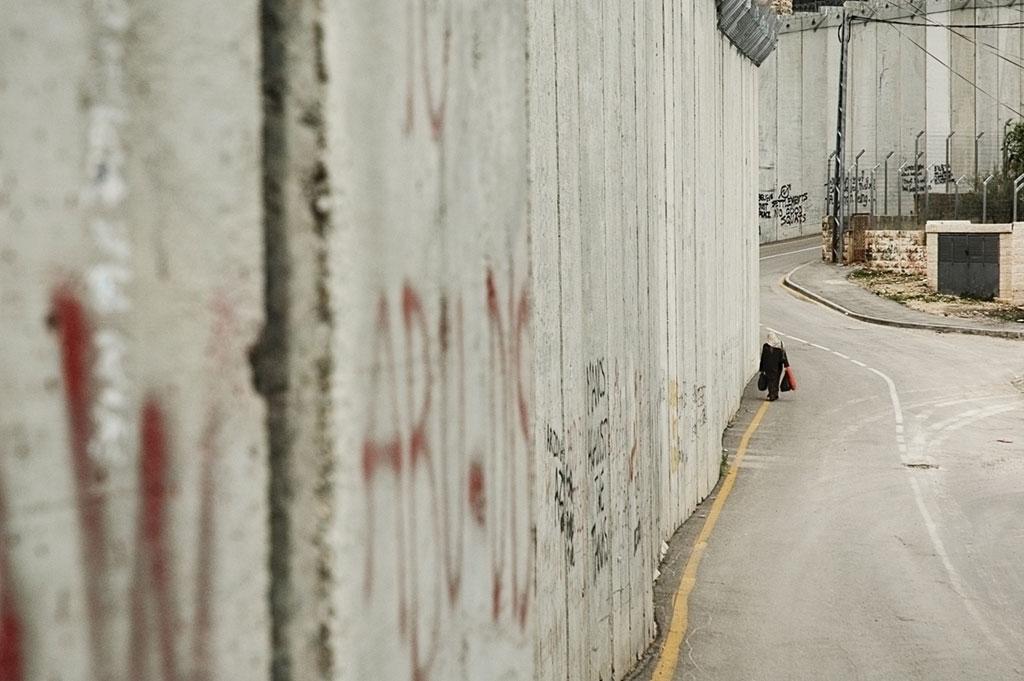 Part del mur que separa Israel i Palestina / LISA NESSAN