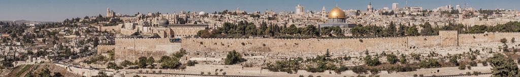 Panoràmica de Jerusalem / DEREK WINTERBURN