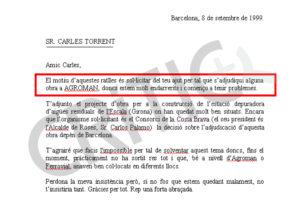 Demanda de Millet a Torrent perquè s'adjudiqui obra pública a Agroman
