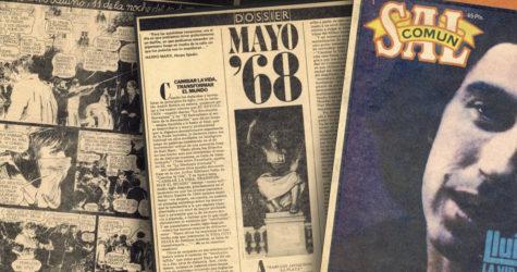 Número inèdit de la revista 'Sal común', impulsada per Joan Manuel Tresserras i Enric Marín