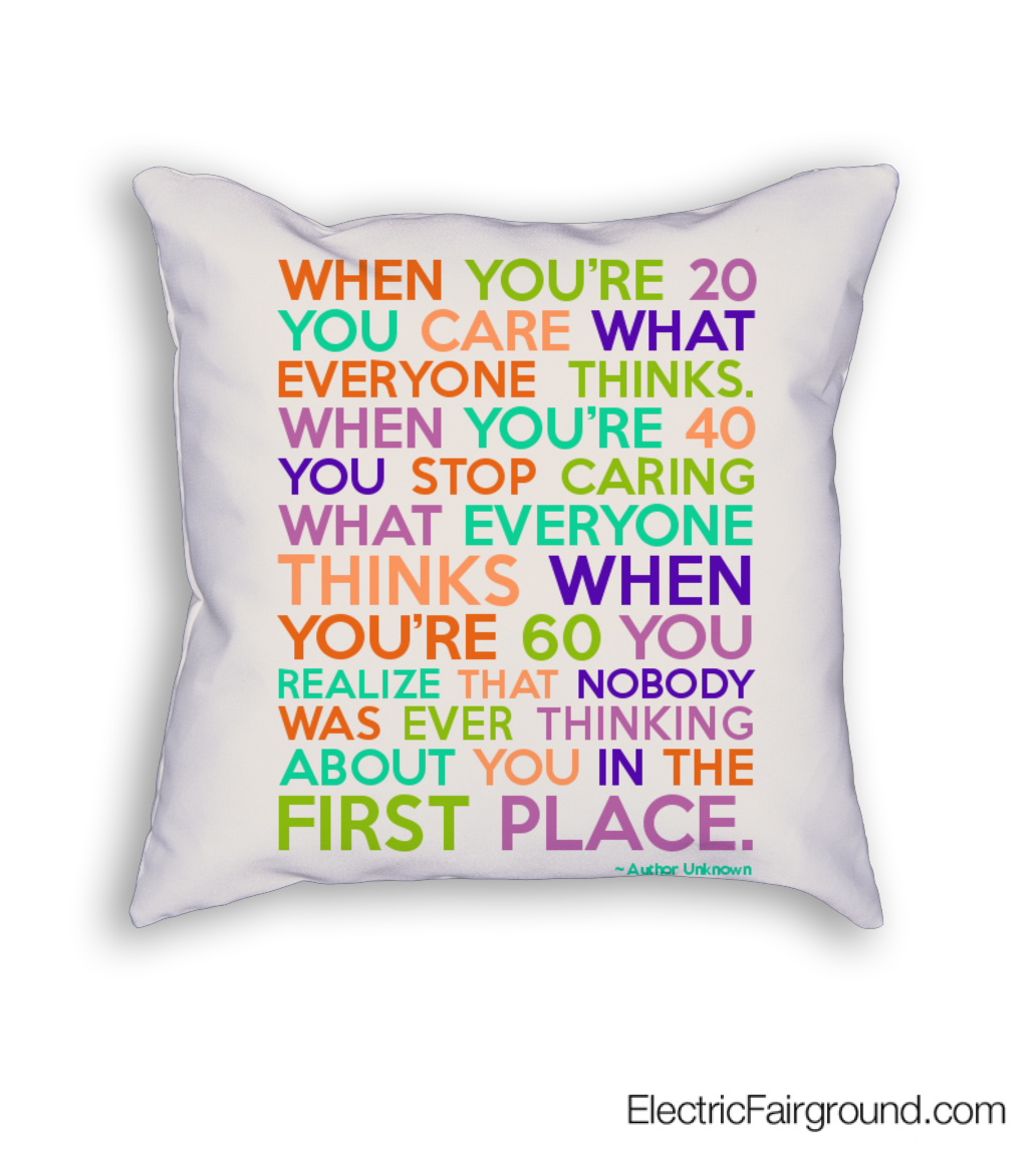Author Unknown Cushion