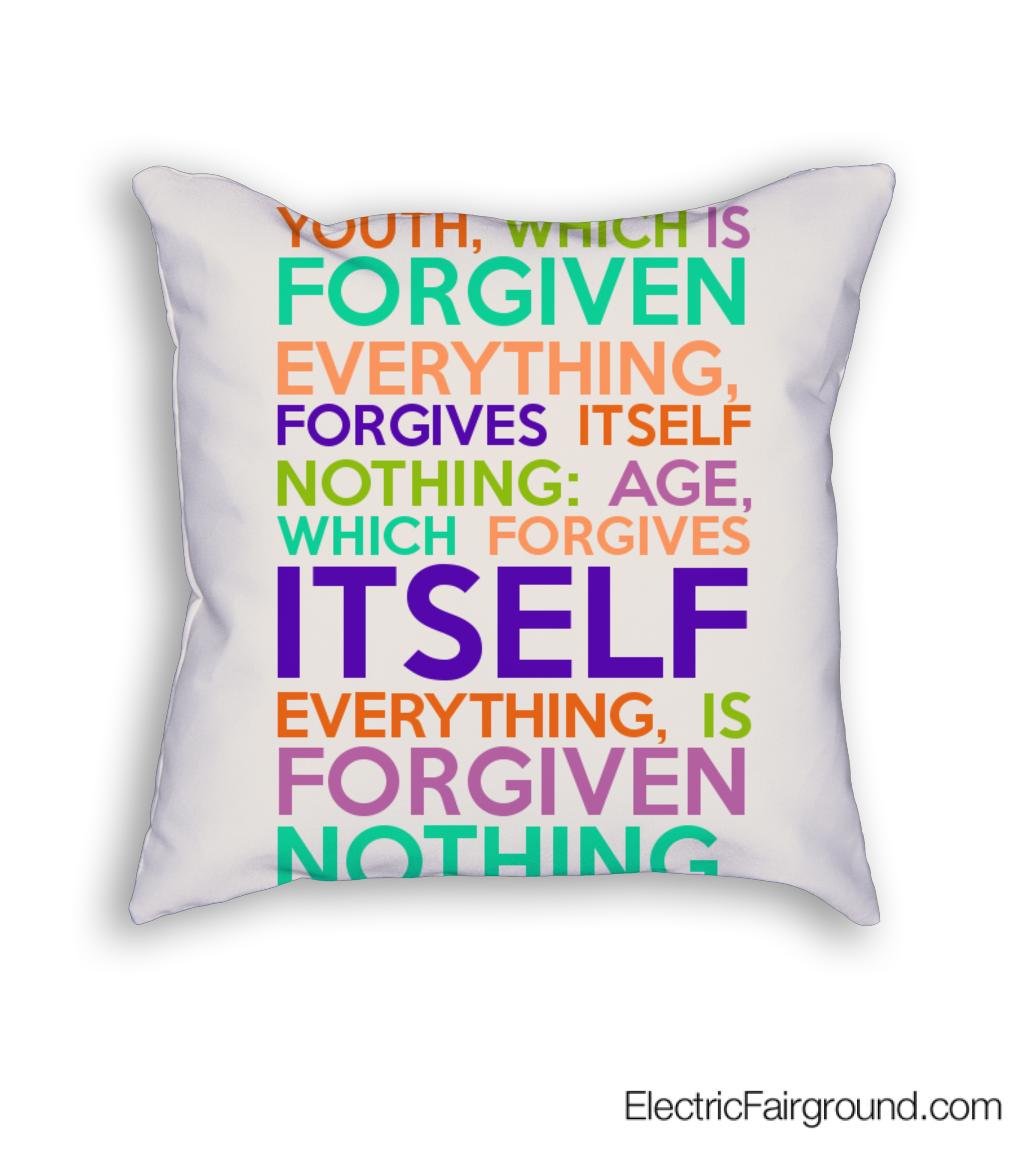 George Bernard Shaw Cushion