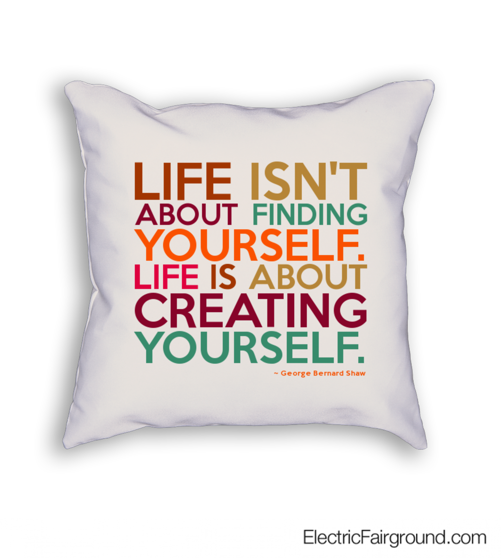George Bernard Shaw Cushion
