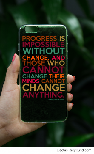 George Bernard Shaw iPhone Case