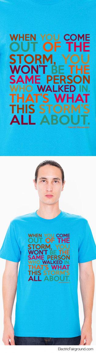 Haruki Murakami Short Sleeve T-Shirt