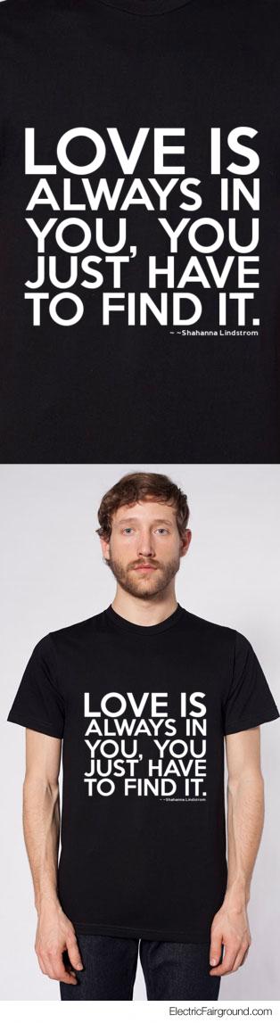 ~Shahanna Lindstrom Short Sleeve T-Shirt