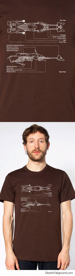 Star Wars Speeder Bike T-Shirt