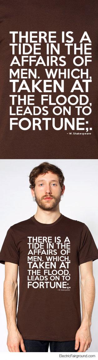 W. Shakespeare Short Sleeve T-Shirt
