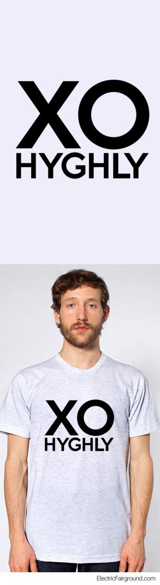 XO     HYGHLY Short Sleeve T-Shirt