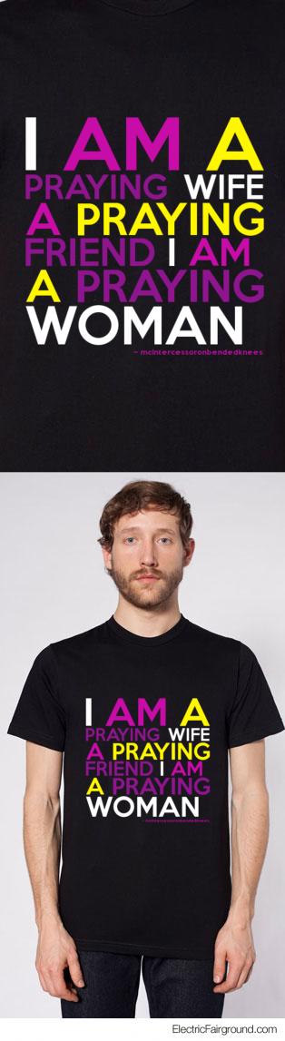 mcIntercessoronbendedknees Short Sleeve T-Shirt