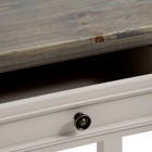 Grove two drawer console (grey)