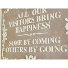 Humorous Visitors Sign