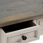 The Grove Collection 3 Drawer Console