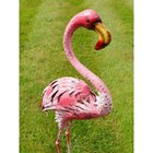 Flora the Flamingo Garden Statue