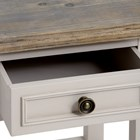 The Grove Collection Plant Table with Drawer