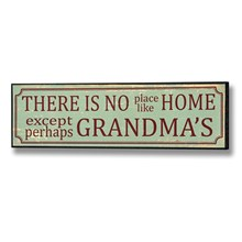 There's no place like home plaque