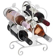 Ornate Wine Holder (white)