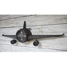Aeroplane Wall Clock