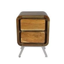 Crofton Two Drawer Lamp Table