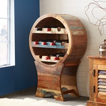Reclaimed Indian Wine Cabinet