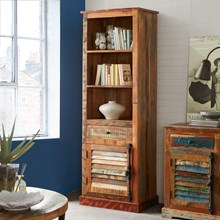 Reclaimed Indian Bookcase