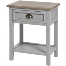 Cambridge Collection One Drawer Bedside Table