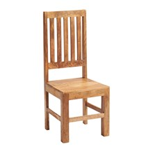 Mango Slatted Chair (Sold in pairs)
