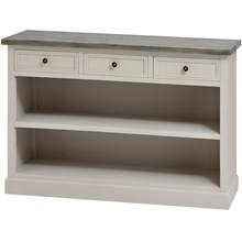The Grove Collection Low Bookcase with 3 Drawers