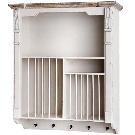 Chesterfield Wall Mounted Plate Rack