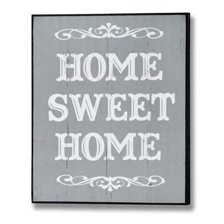 Home Sweet Home Wall Plaque