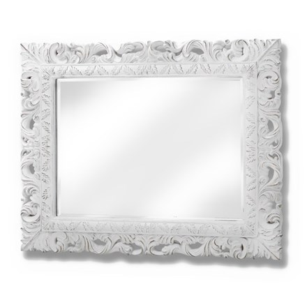 Ornate Leaf Wall Mirror